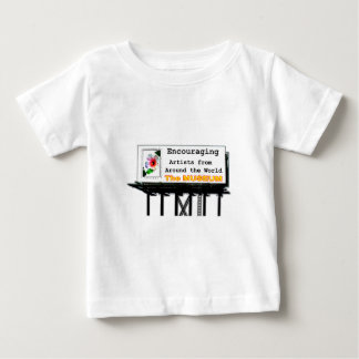 Billboard Your Ad Here Encouraging The MUSEUM Zazz Baby T-Shirt