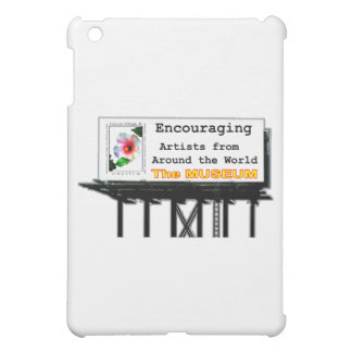 Billboard Your Ad Here Encouraging The MUSEUM Zazz iPad Mini Case