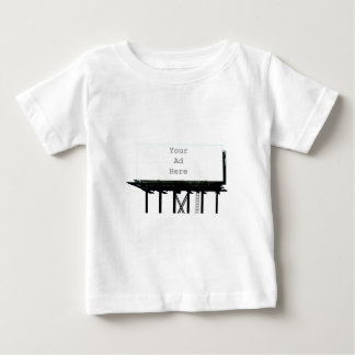 Billboard Your Ad Here White The MUSEUM Zazzle Gif Baby T-Shirt