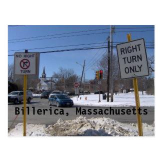 Billerica, Massachusetts Tarjetas Postales