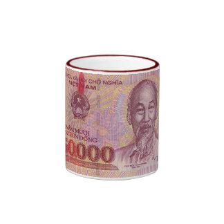 Billete de banco 01 de Vietnam Tazas
