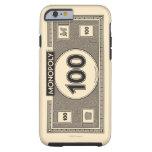 Billete de dólar 100 funda de iPhone 6 tough