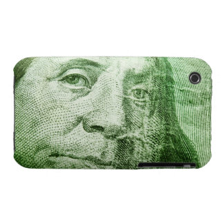 Billete de dólar 100 iPhone 3 Case-Mate cárcasa