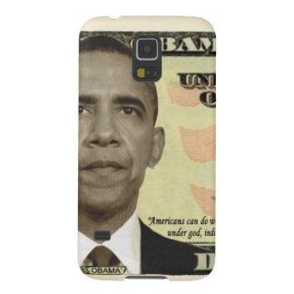 Billete de dólar 2012 de Obama Carcasa Galaxy S5