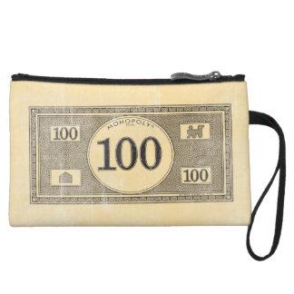 Billete de dólar del vintage 100