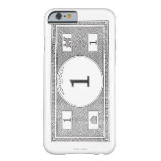 Billete de dólar del vintage 1 funda de iPhone 6 barely there
