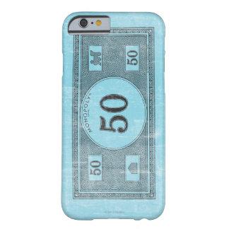 Billete de dólar del vintage 50 funda de iPhone 6 barely there
