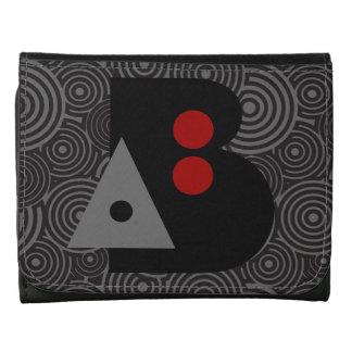 Billetera Emblema Gráfico: AB