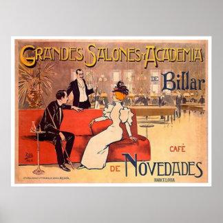 Billiard Academy Barcelona, Spain Print