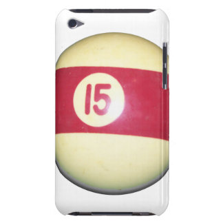 Billiard Ball #15 Barely There iPod Covers