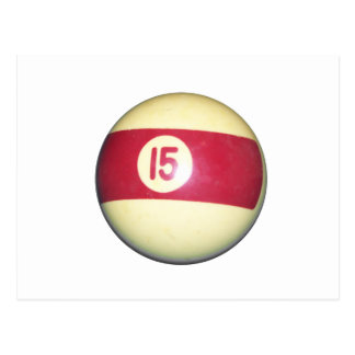 Billiard Ball #15 Postcard