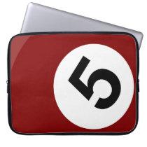 billiard ball laptop sleeve