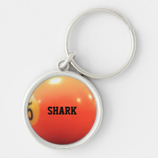 Billiard Ball Personalized Keychain