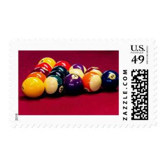 Billiard Ball Postage Stamp
