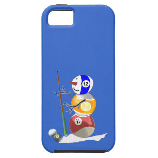 Billiard Ball Snowman iPhone SE/5/5s Case