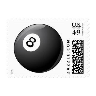 Billiard Ball Sports Pool Stamp