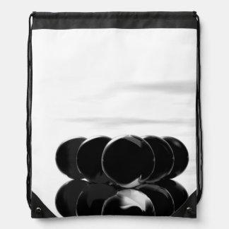 Billiard Balls 8-Ball Black Fashion Backpack