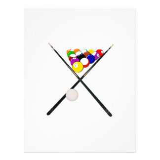 Billiard Balls and Pool Cues Flyer