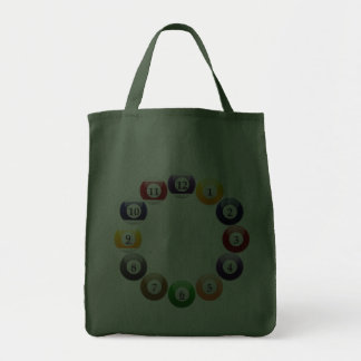 Billiard Balls Shiny Colorful Pool Snooker Sports Bags