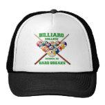 BILLIARD COLLEGE SCHOOL OF HARD BREAKS HATS