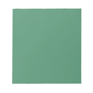 Billiard Green Background Chic Fashion Color Note Pads