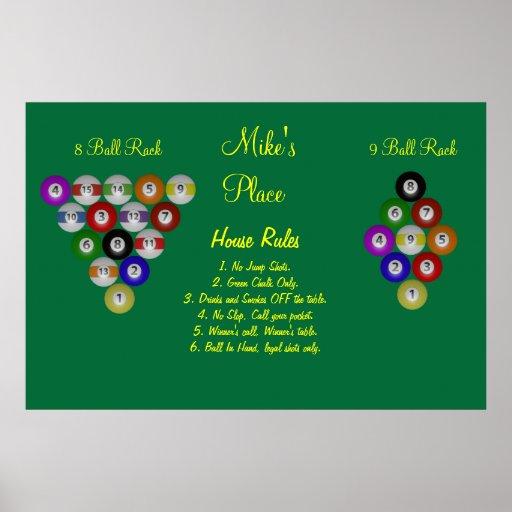 rules 8 ball pool