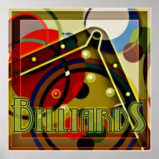 Billiard Panic Poster