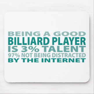 Billiard Player 3% Talent Mouse Pad