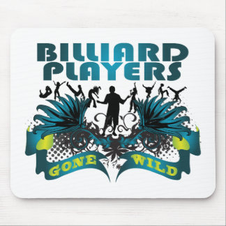Billiard Players Gone Wild Mouse Pad