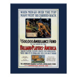 """Billiard Players of America"" Posters"