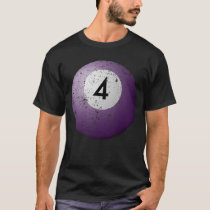 Billiard Pool Balls 4 Large Billiard Balls Pool T-Shirt