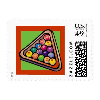 Billiard Pool Balls U.S. Postage Stamp