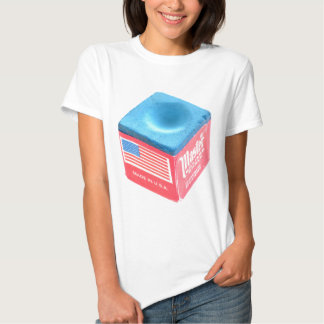 Billiard Pool Chalk T Shirt