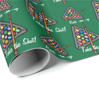 Billiard/Pool Game Wrapping Paper