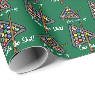 Billiard/Pool Game Wrapping Paper