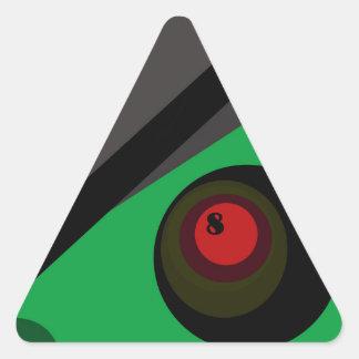 Billiard Triangle Sticker