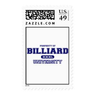 Billiard University Postage