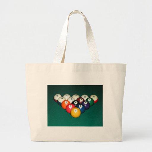 Billiards 003 canvas bags