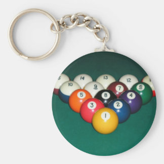 Billiards 003 key chains
