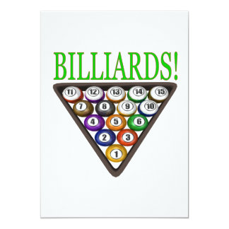 Billiards 2 card