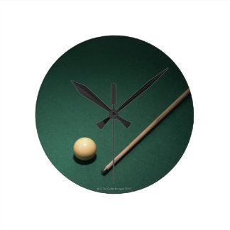 Billiards 2 round clocks