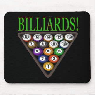 Billiards 2 mouse pad