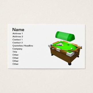 Billiards 3 business card