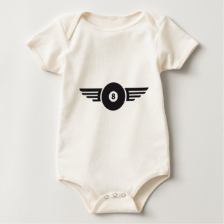 Billiards 8 baby bodysuit