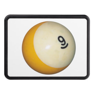 Billiards 9 Ball Tow Hitch Cover