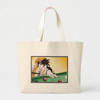 Billiards Anime Canvas Bag