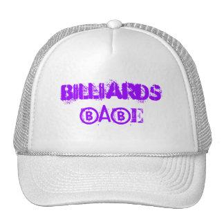 Billiards Babe Hat