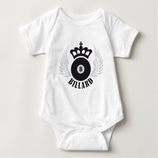 Billiards Baby Bodysuit