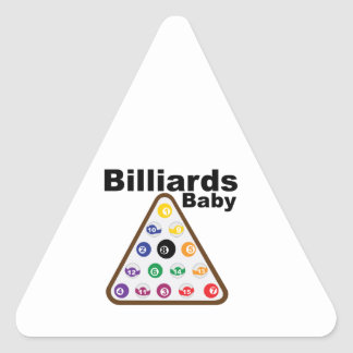 Billiards Baby Sticker