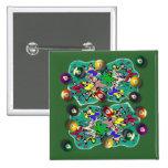 Billiards Badge Pins